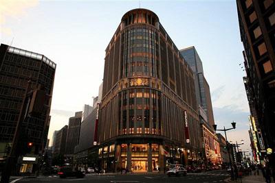 Le magasin Mitsukoshi de Tokyo en 2007.