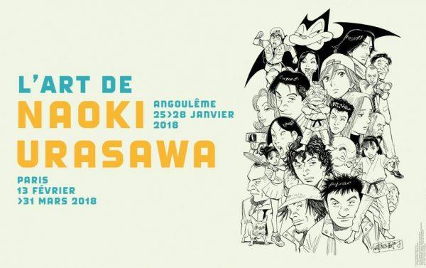 Ne manquez pas la venue de Naoki Urasawa au Festival d'Angoulême 2018 !